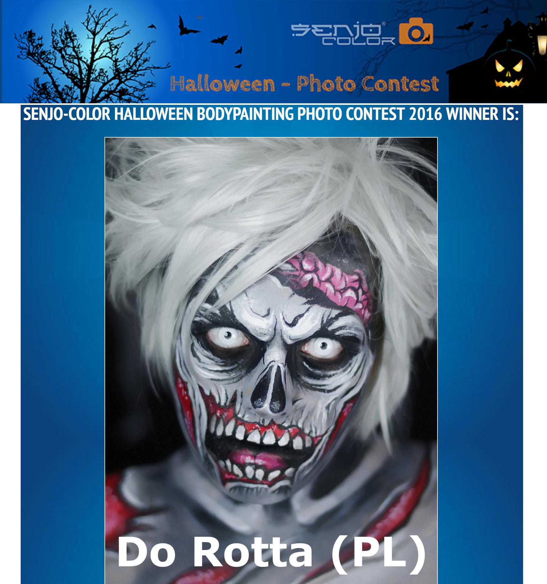 Gewinner Foto Halloween Bodypainting Contest