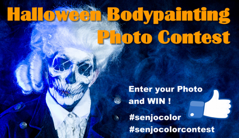 Concurso Fotografico Bodypaint para halloween