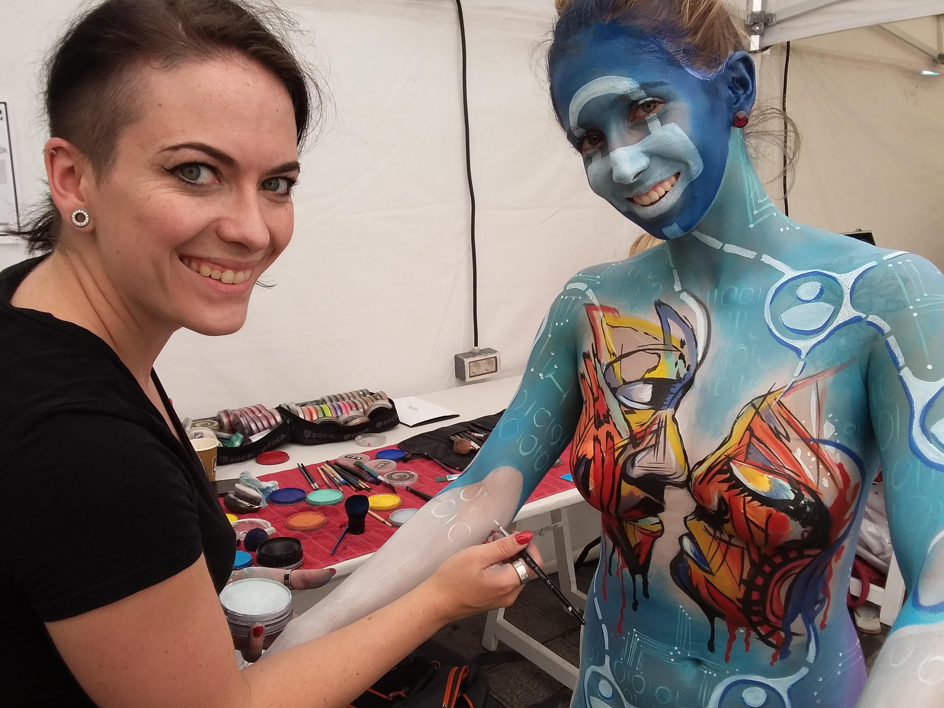 Tenerife Bodypainting Festival 2018 Senjo Color